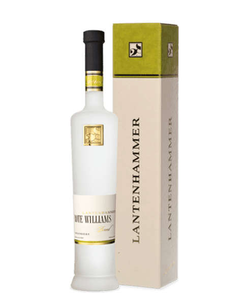 Schnaps Edelbrand Rote Williamsbrand 500ml Art 12