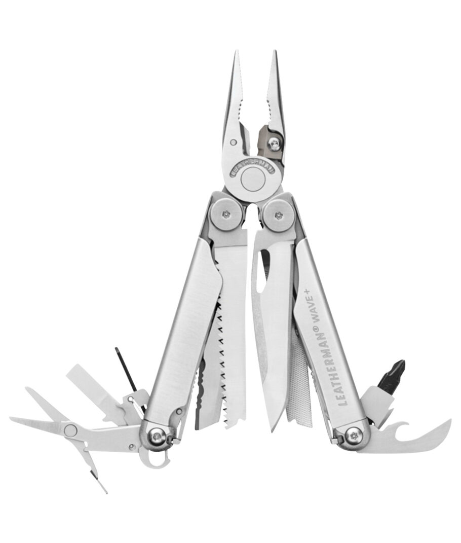Leatherman Multitool Wave Plus mit Nylon Scheiderostfrei
