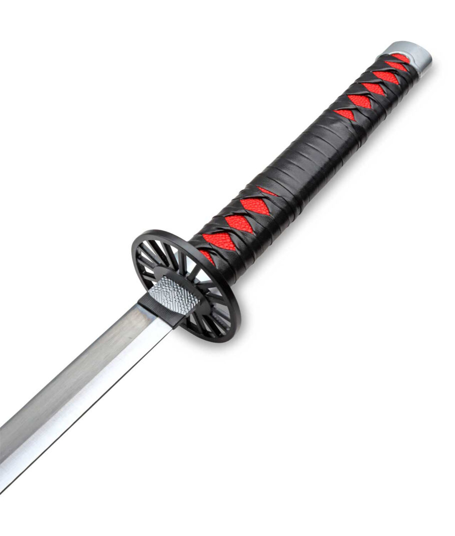 Der dekorative Griff des Demon Slayer Katana