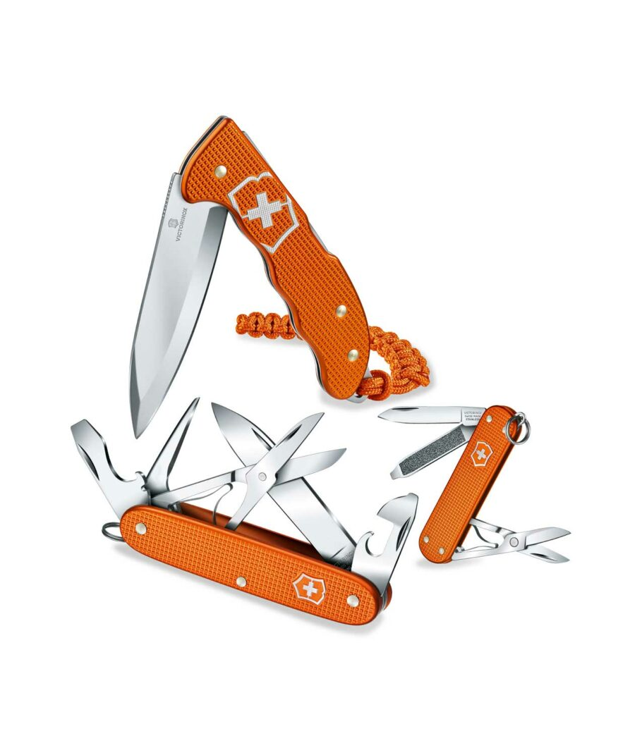 Victorinox Alox Serie Limited Edition 2021 in Tigerorange
