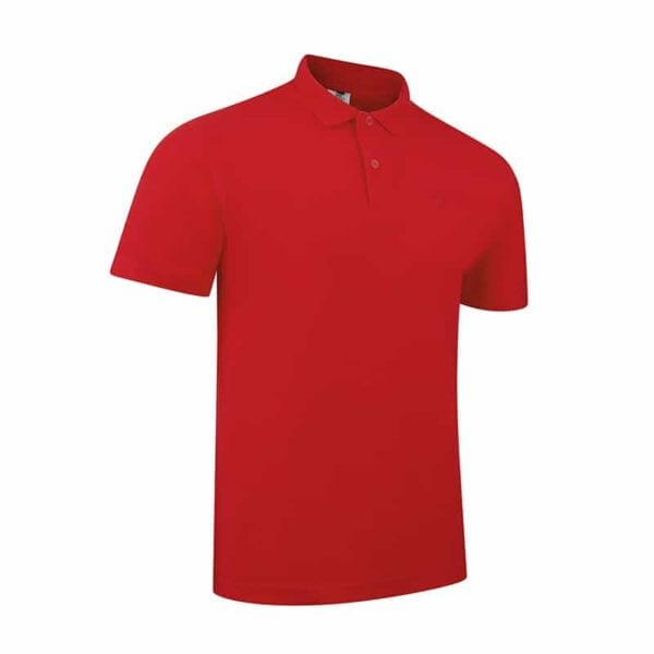 Out-Hunt Polo Basic rot