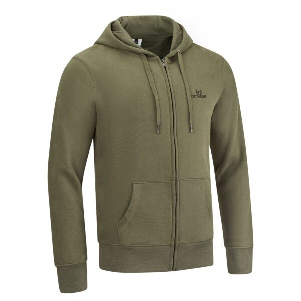 Out-Hunt Zipped Hoodie